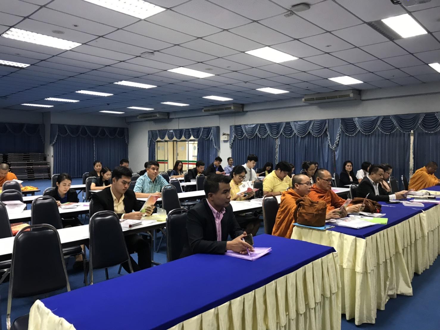 การรับรายงานตัวและปฐมนิเทศนักศึกษา ภาคเรียนที่ 2/2562